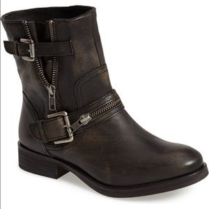 Hinge | Compadre leather moto boots
